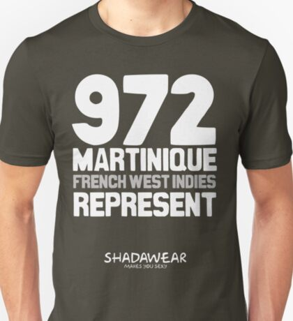 972 Martinique, FWI. Represent T-Shirt