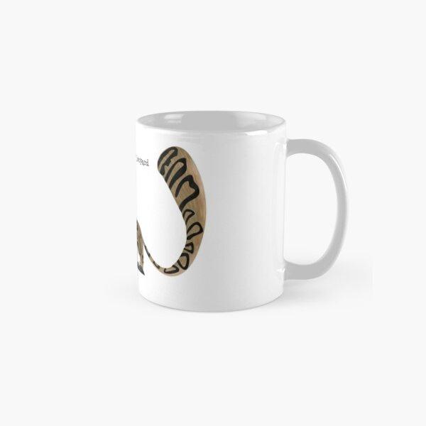 Snow Leopard Caricature Classic Mug