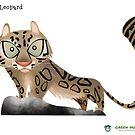 Snow Leopard Caricature by rohanchak