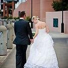 Wedding - Scott and Margaret, walking by Daniel Peut
