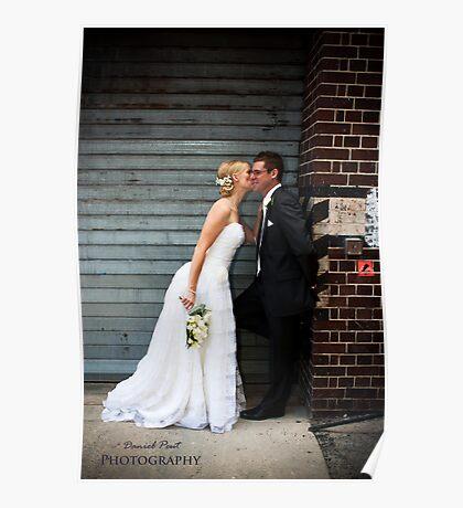 Wedding - Scott and Margaret, outside Poster