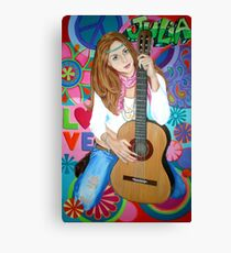 Groovy Julia Canvas Print