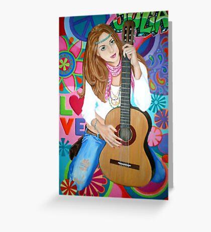 Groovy Julia Greeting Card