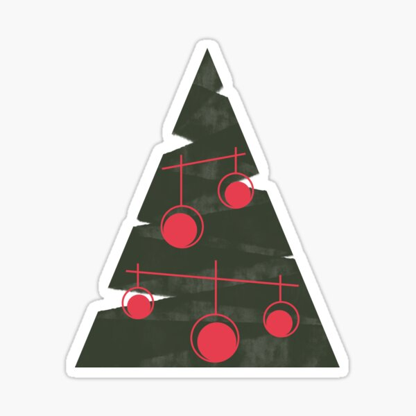 Christmas #redbubble #xmas Sticker