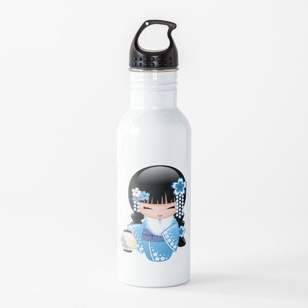 Winter Kokeshi Doll V2 Water Bottle