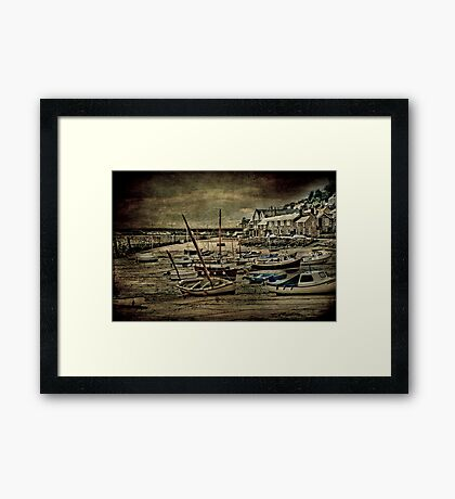 The Gathering Storm Framed Print