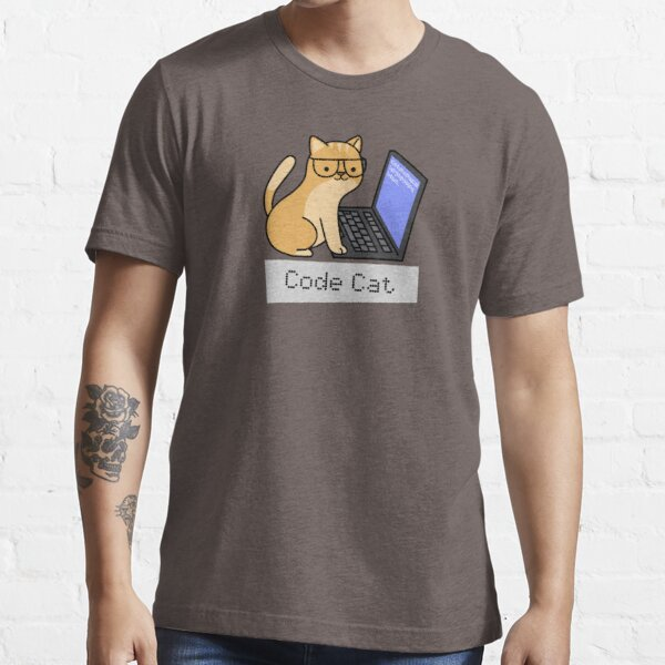 Code Cat Essential T-Shirt