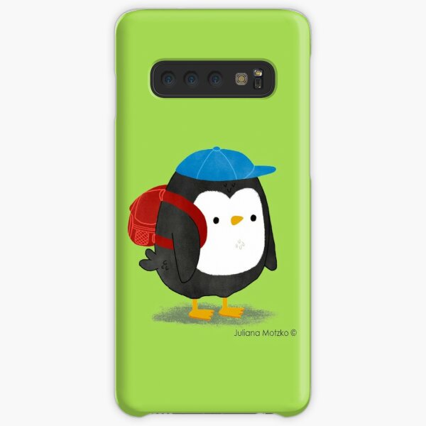 Jimmy Penguin goes to school Samsung Galaxy Snap Case