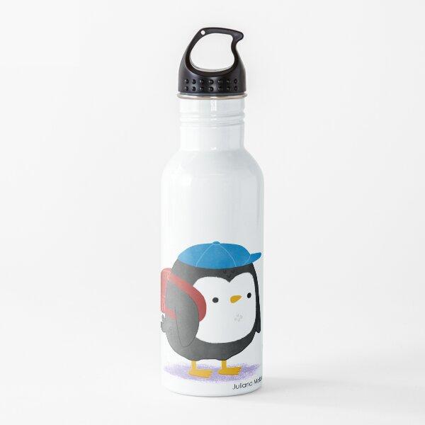 Jimmy Penguin goes to school Water Bottle