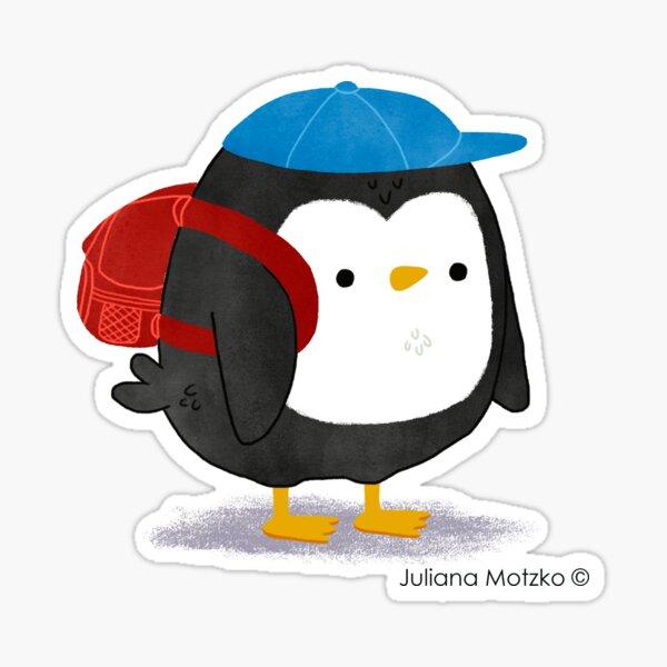 Jimmy Penguin goes to school Sticker