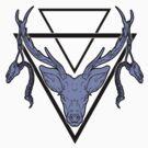 Triangle Deer H 2 by mattimac