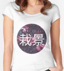 Saikei - Stay LOFI Women's Fitted Scoop T-Shirt