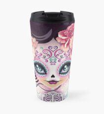 Camila Huesitos - Sugar Skull Travel Mug