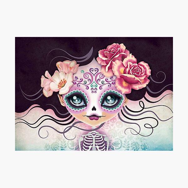 Camila Huesitos - Sugar Skull Photographic Print