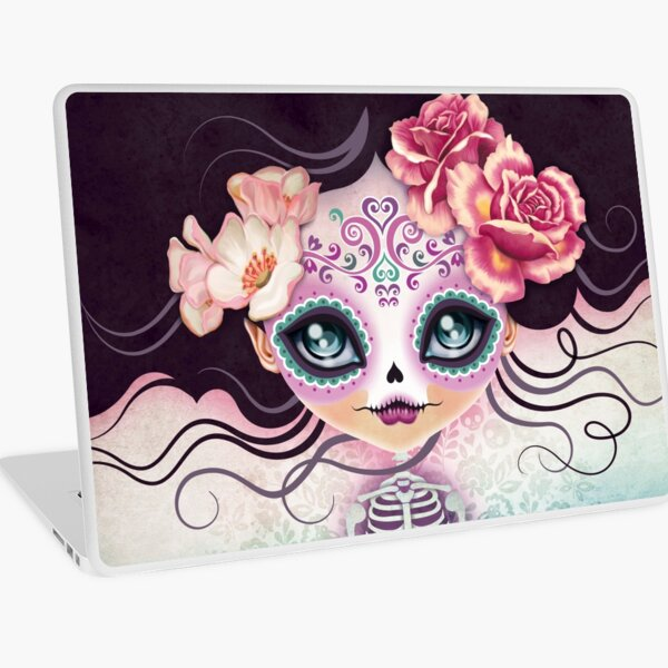 Camila Huesitos - Sugar Skull Laptop Skin