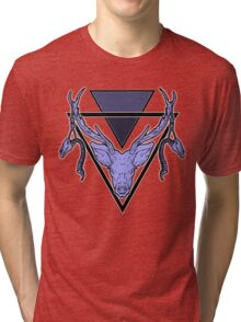 Triangle Deer Tri-blend T-Shirt