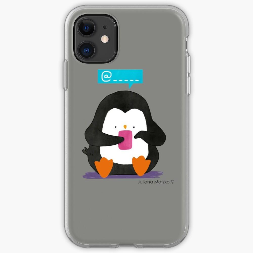 Social Media Penguin iPhone Case & Cover