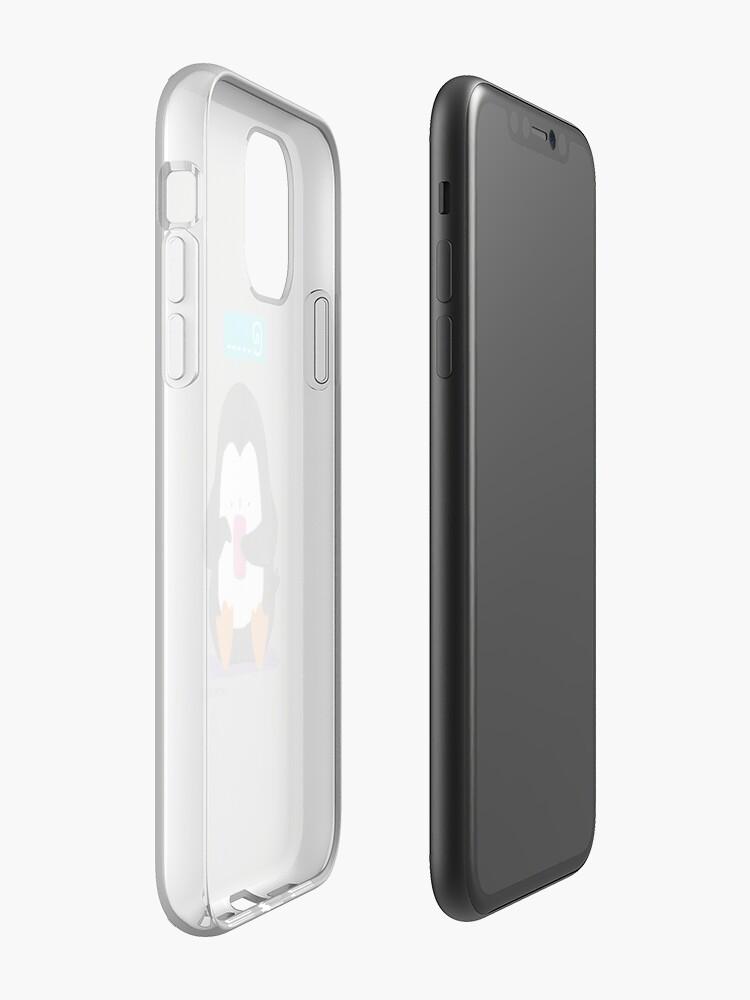 Alternate view of Social Media Penguin iPhone Case & Cover