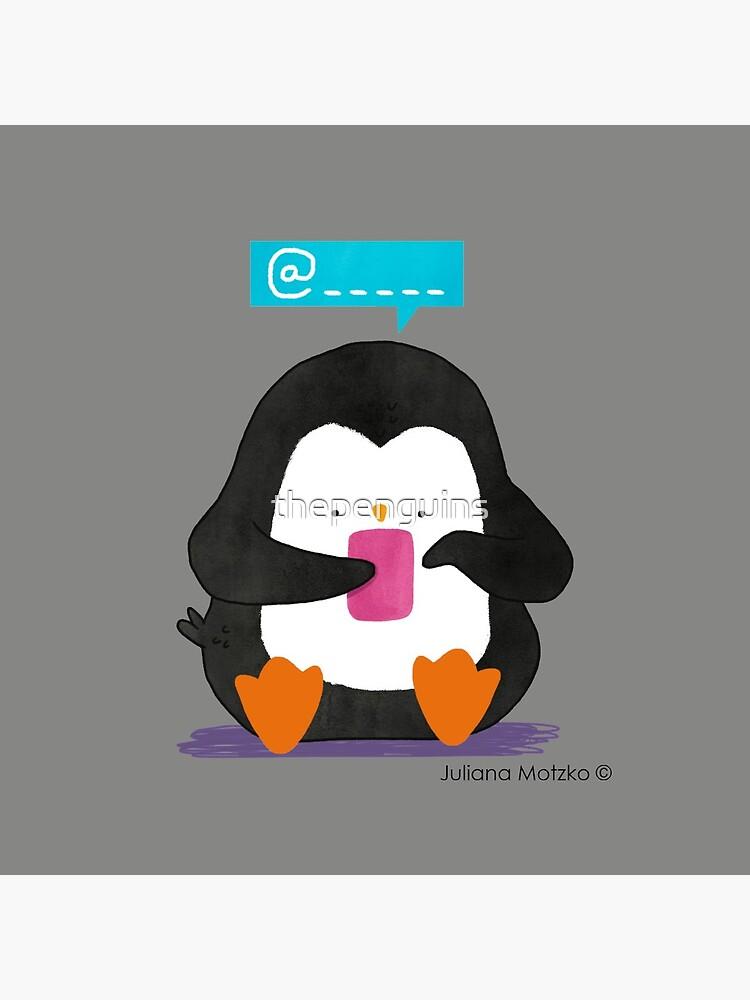 Social Media Penguin by thepenguins