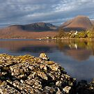 Applecross Hills.  Reflection. Ardarroch. Wester Ross. Scotland. by Barbara  Jones ~ PhotosEcosse
