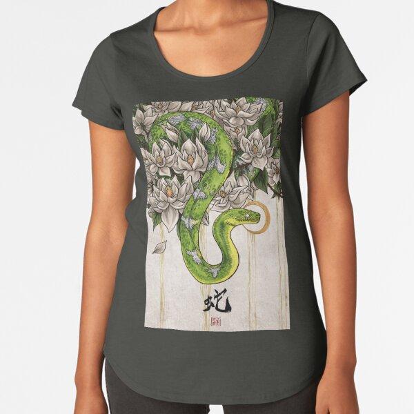 Snake Premium Scoop T-Shirt