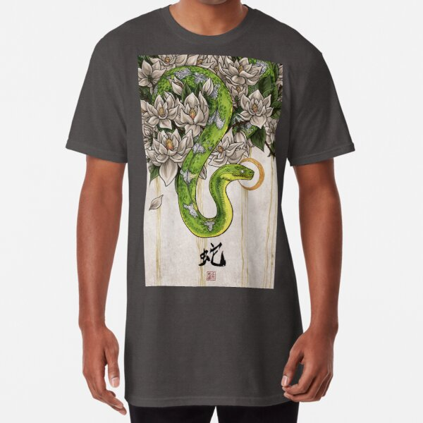 Snake Long T-Shirt