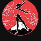 Rhythmic Gymnastics Japanese Art Style by jaygo