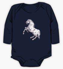 D1G1TAL-M00DZ ~ GALLIMAUFRY ~ My Horses by tasmanianartist One Piece - Long Sleeve