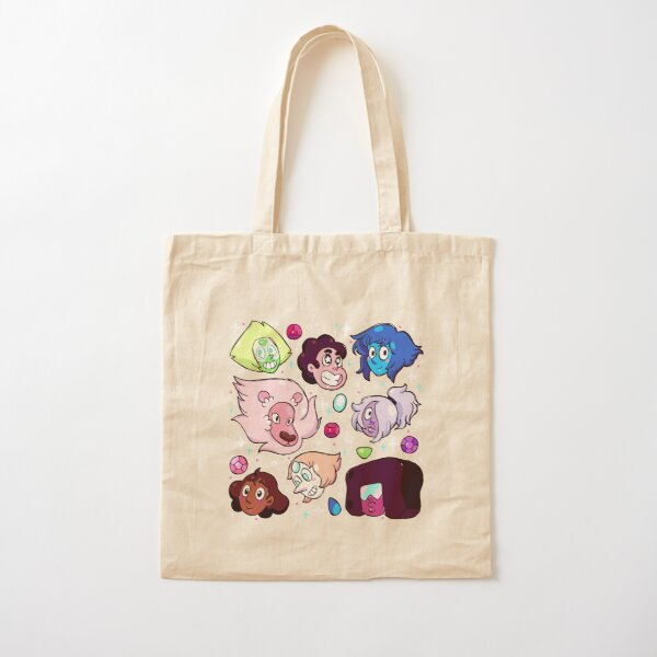 Crystal Gem Friends Cotton Tote Bag