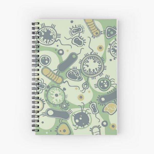 Eukaryote (green) Spiral Notebook