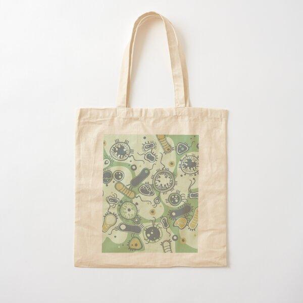 Eukaryote (green) Cotton Tote Bag