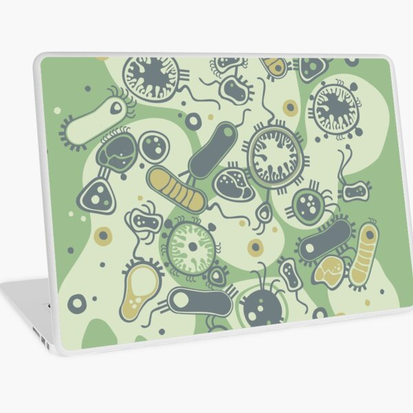 Eukaryote (green) Laptop Skin
