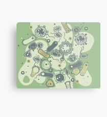 Eukaryote (grün) Metallbild