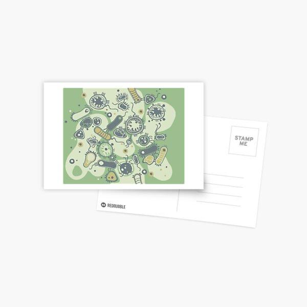 Eukaryote (green) Postcard