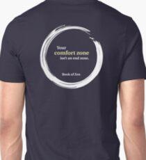 Inspirational Comfort Zone Quote T-Shirt