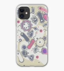 Eukaryote (rosa/lila) iPhone-Hülle & Cover