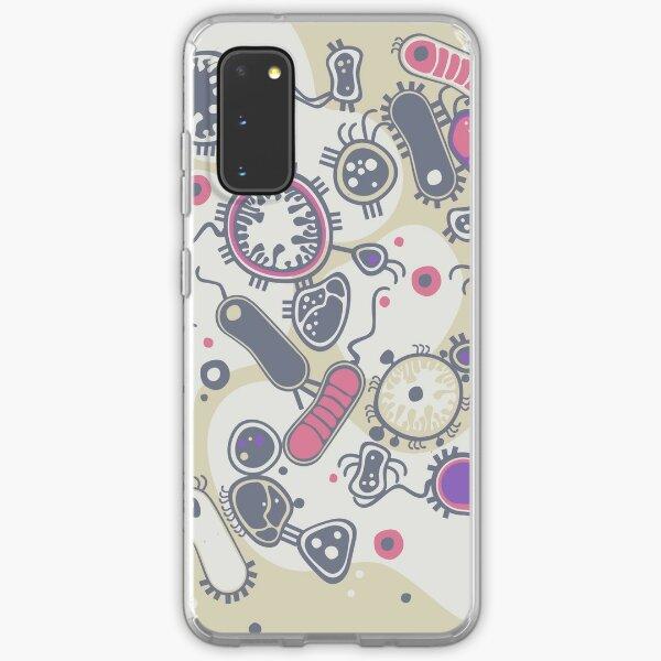 Eukaryote (rosa/lila) Samsung Galaxy Flexible Hülle