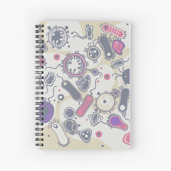 Eukaryote (pink / purple) Spiral Notebook