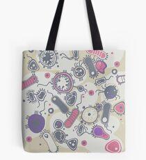 Eukaryote (rosa/lila) Tote Bag
