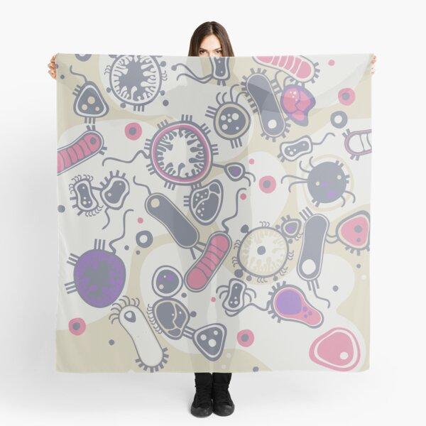 Eukaryote (pink / purple) Scarf