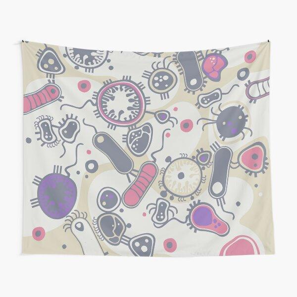 Eukaryote (pink / purple) Tapestry