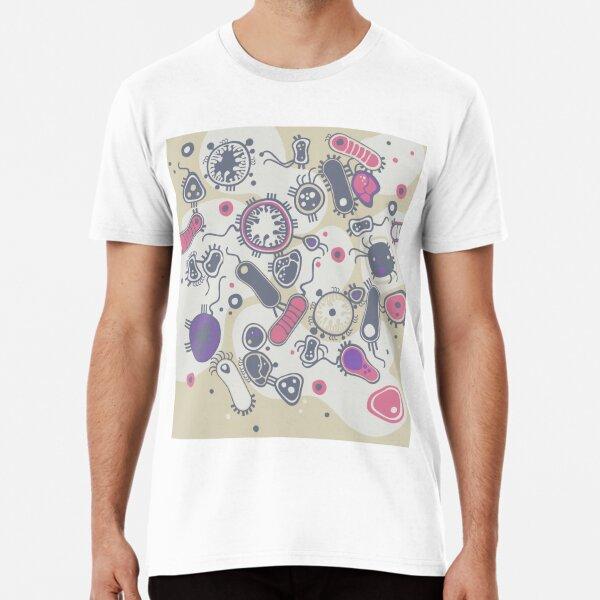 Eukaryote (rosa/lila) Premium T-Shirt