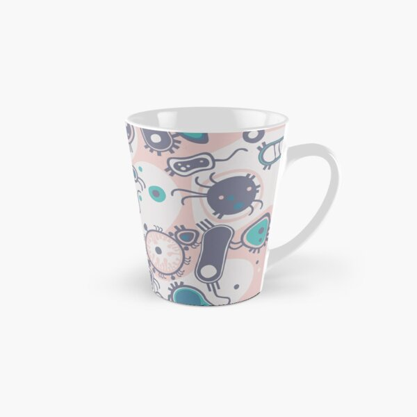 Eukaryote (pink / turquoise) Tall Mug