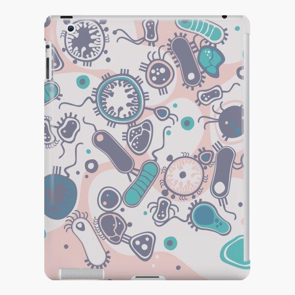 Eukaryote (rosa/türkis) iPad – Leichte Hülle