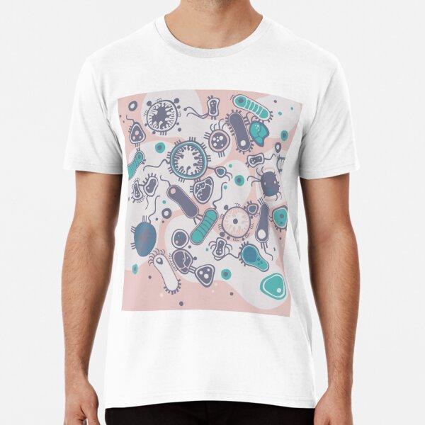 Eukaryote (rosa/türkis) Premium T-Shirt