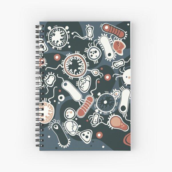 Eukaryote (dark + blue) Spiral Notebook