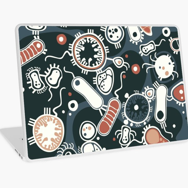 Eukaryote (dark + blue) Laptop Skin