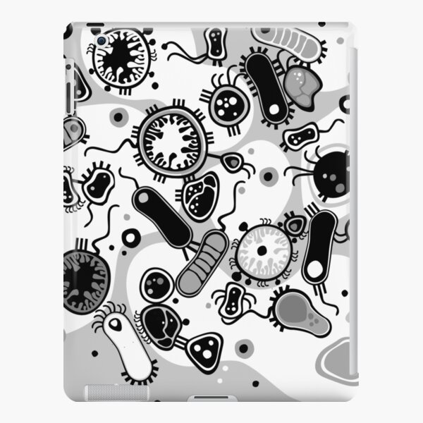 Eukaryote (black / white) iPad Snap Case