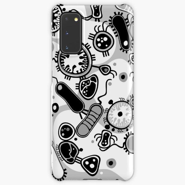 Eukaryote (schwarz/weiß) Samsung Galaxy Leichte Hülle