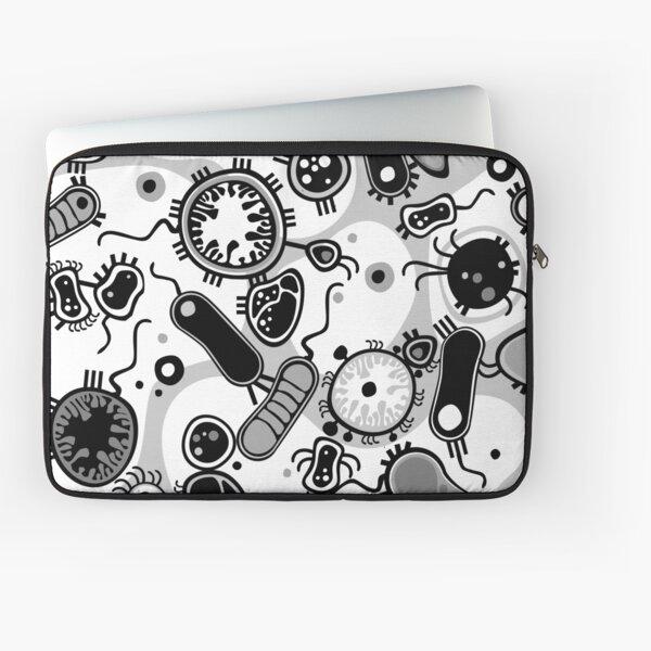 Eukaryote (schwarz/weiß) Laptoptasche